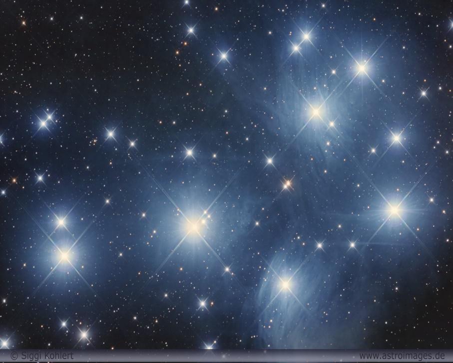Sternenhimmel der Weihnachtszeit
