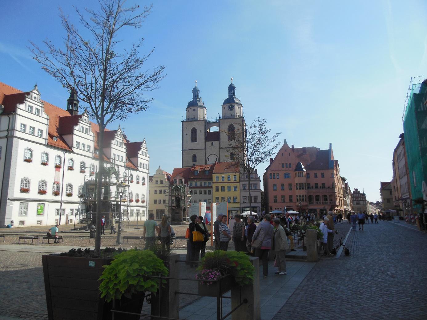 Unsere Fahrt nach Wittenberg