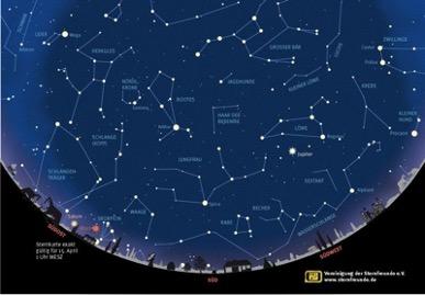Sternenhimmel Pfingsten